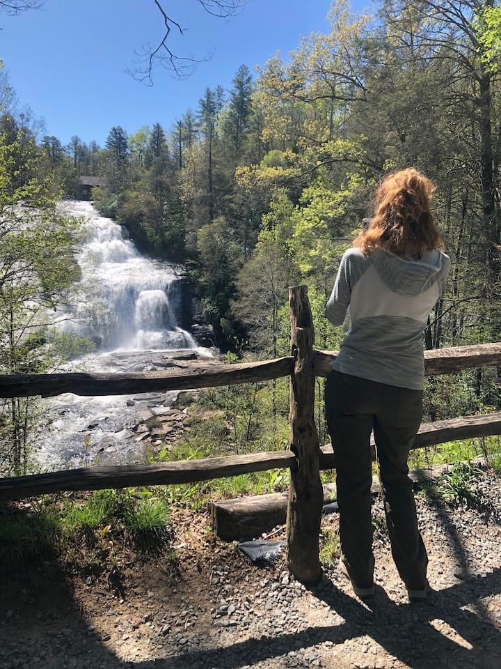 Capture beautiful photos of 3 waterfalls