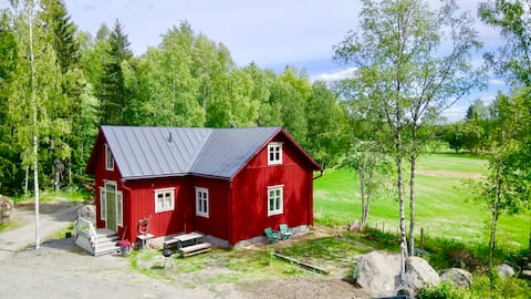 Traditional old Ostrobothnian house