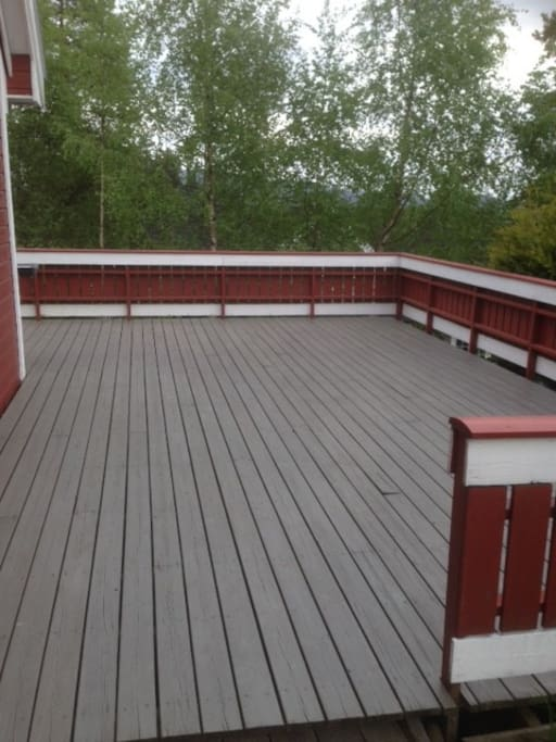 Big and sunny terrace (55sqm)
