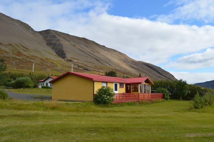 Gemlufall, Dýrafjörður breathtaking veiw!