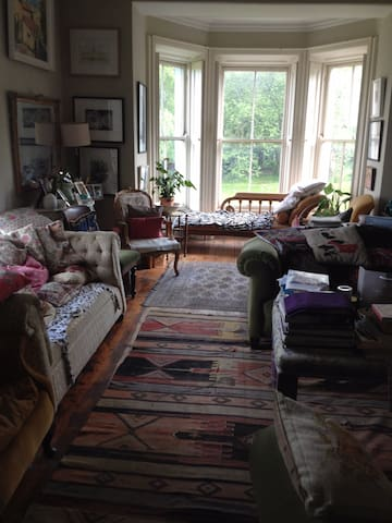 This is the drawing room