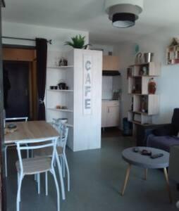 Beau studio face aux montagnes - Jurvielle - Osakehuoneisto