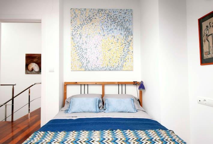 El Palco, casa con encanto. Dormitorio El Cielo