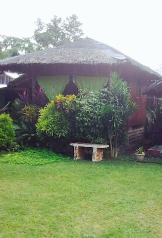Samal Island Davao Philippines  Small Native House