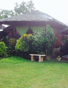 Samal Island Davao Philippines  Small Native House - Bungalou