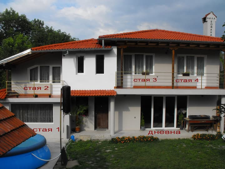 Villa Bojana, Room IV, Troyan