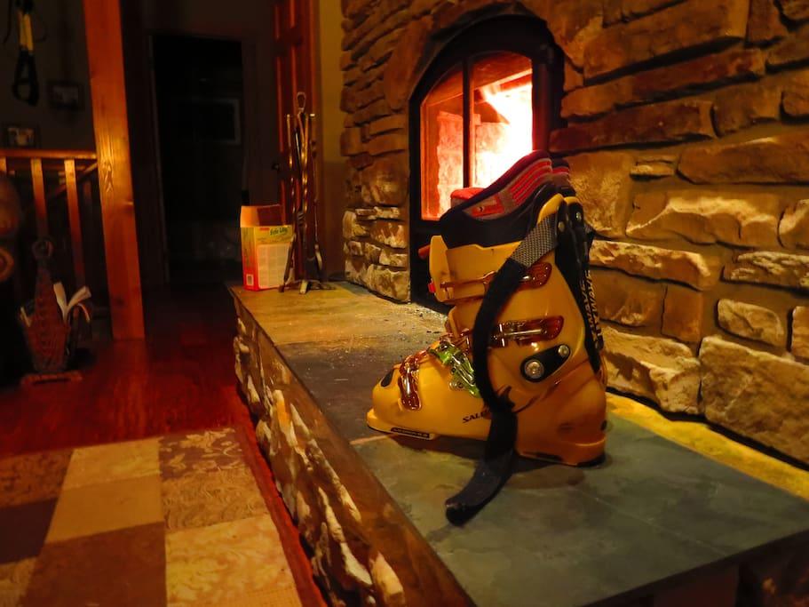Toasty warm boots.