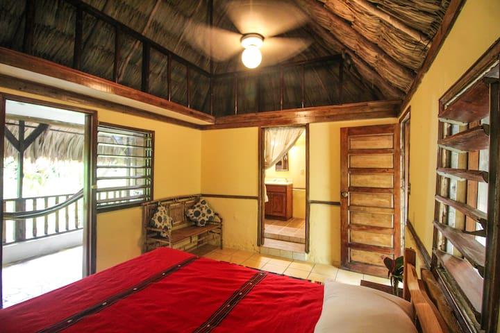 Cohune Palms River Cabanas - Hummingbird Cabana