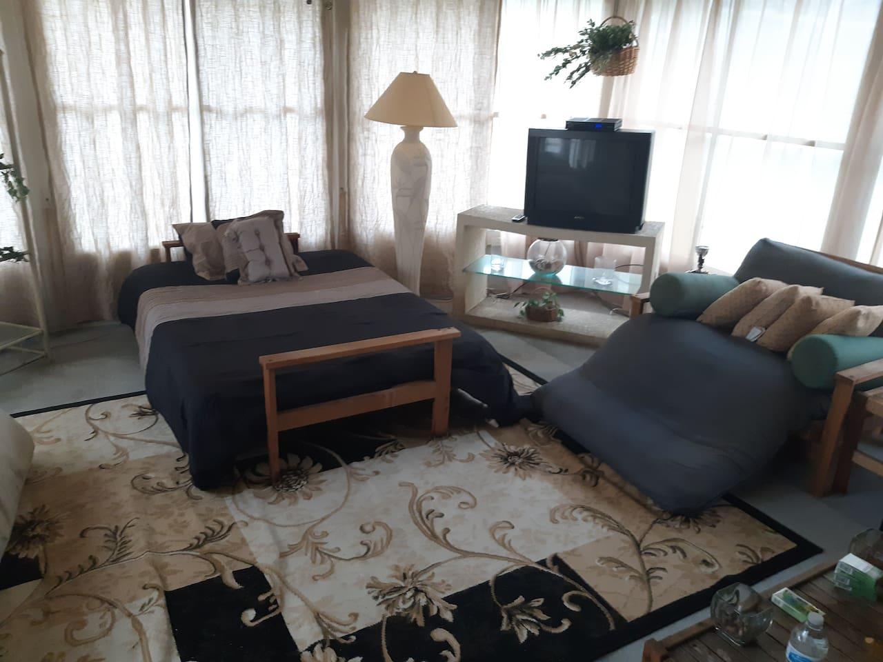 Room # 4 Garden bedroom transportation available $35 a day