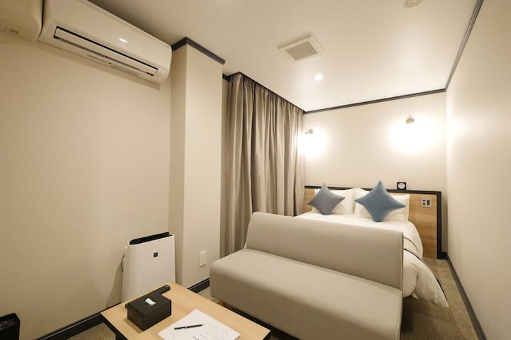 COD: 8min from Shinjuku St, new hotel for 2 people
