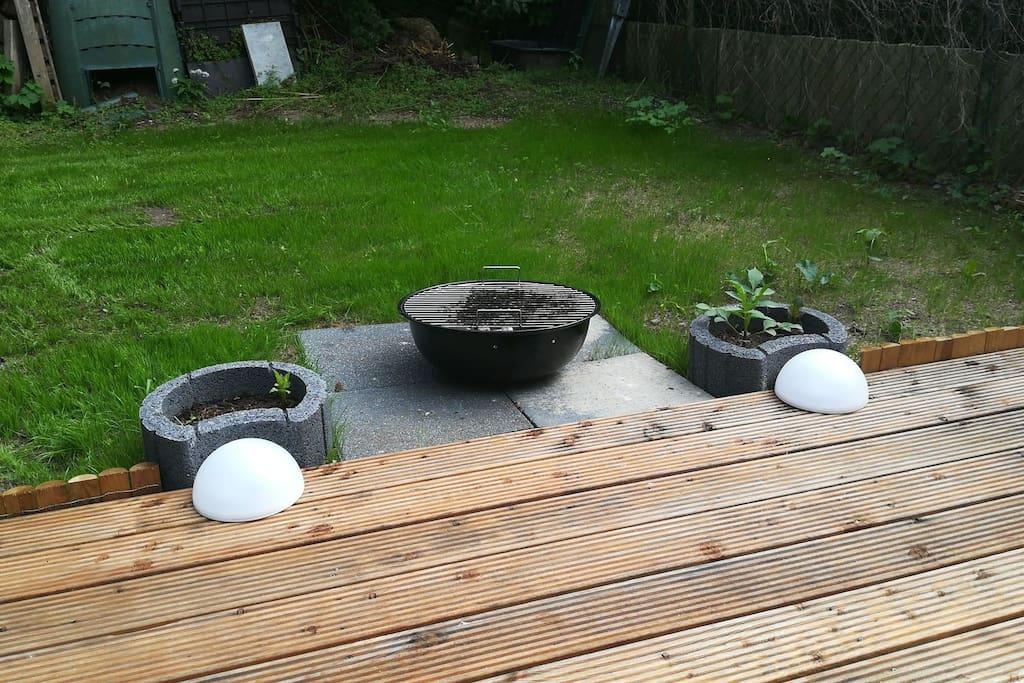 Grillen ist auf der Terrasse möglich!