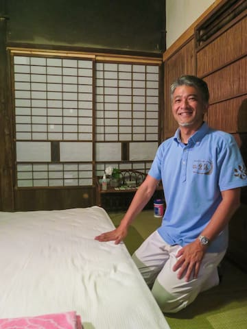 Acupuncture, Moxibustion and Body work treatments given by Mr. Shirai - a recommended local practitioner.  Mr. Shirai`s schedule is very busy, please book in advance and we will let you know if there is availability.  treatments will be given at the house.