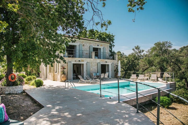 Villa Sapphire, Apergatika, Lakka, Paxos
