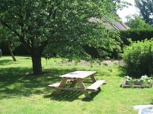Chambre sur terrasse avec salle d'eau privée - Méry-sur-Marne - Casa