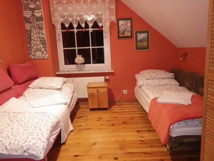 Pokój Pomarańcza MALINÓWKA Szczyrk