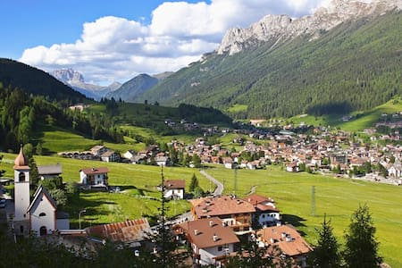 Ampio e confortevole nel cuore delle Dolomiti - Moena - Huoneisto