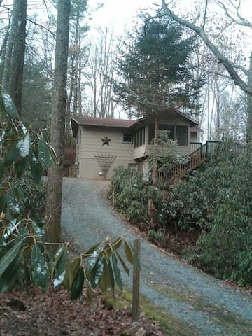 Lovely cabin among the trees. - Newland - Casa