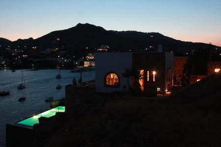 Sea front Villa at Patmos - Grikos - Patmos