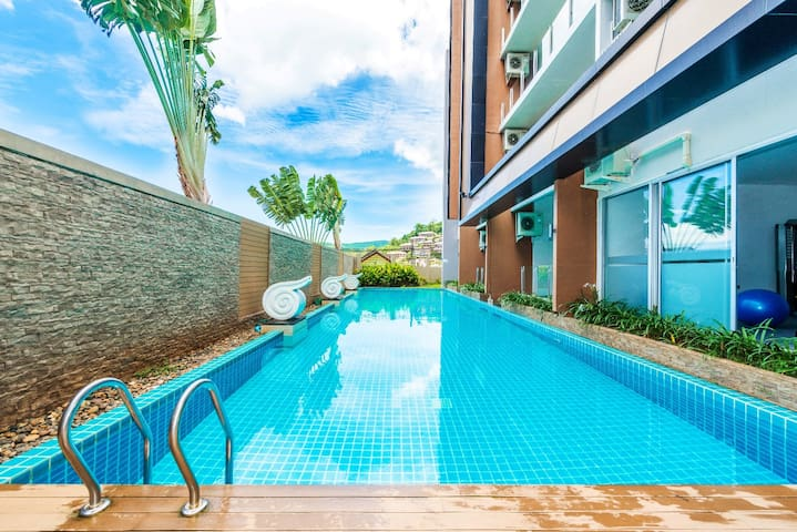 New studio apartments, Karon beach