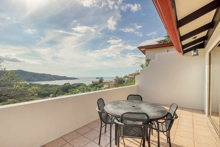 Ocean view villa w/ terrace, free WiFi, and shared pool - walk to the beach!
