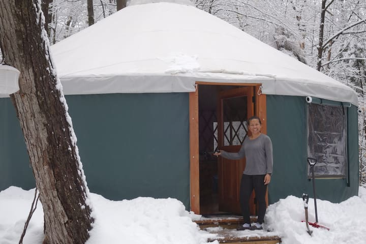 The Back 80 Yurt