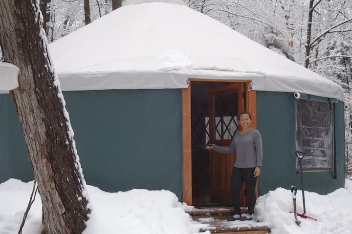 The Back 80 Yurt