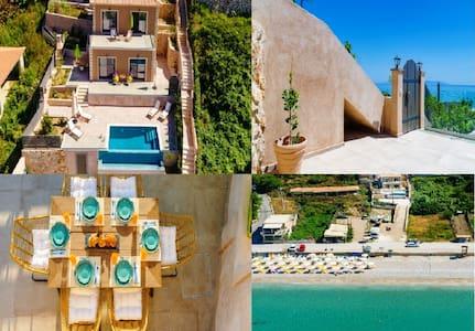 Villa Paloma! A brand new seafront luxury Villa...