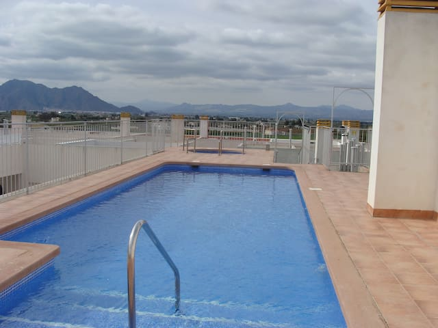 Mountain View  1 bed apartment - Almoradí