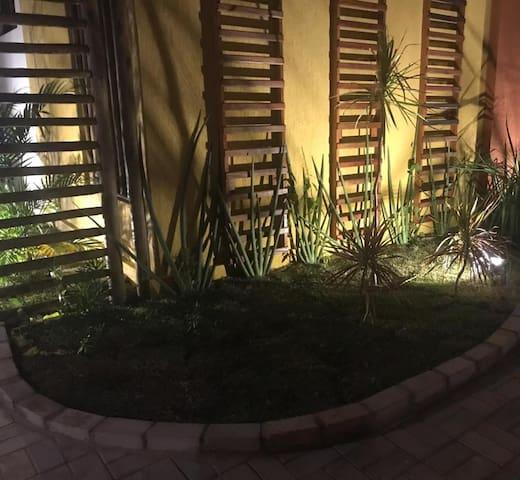 Jardim Interno do Flat