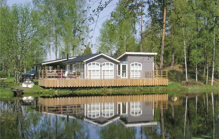 Holiday cottage with 1 bedroom on 70m² in Ryssby