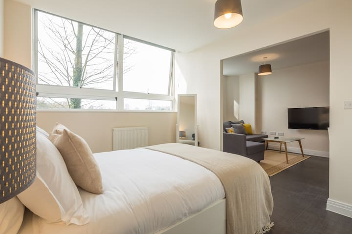 Beautiful Studio in Luxury Building - Stevenage - Apartemen