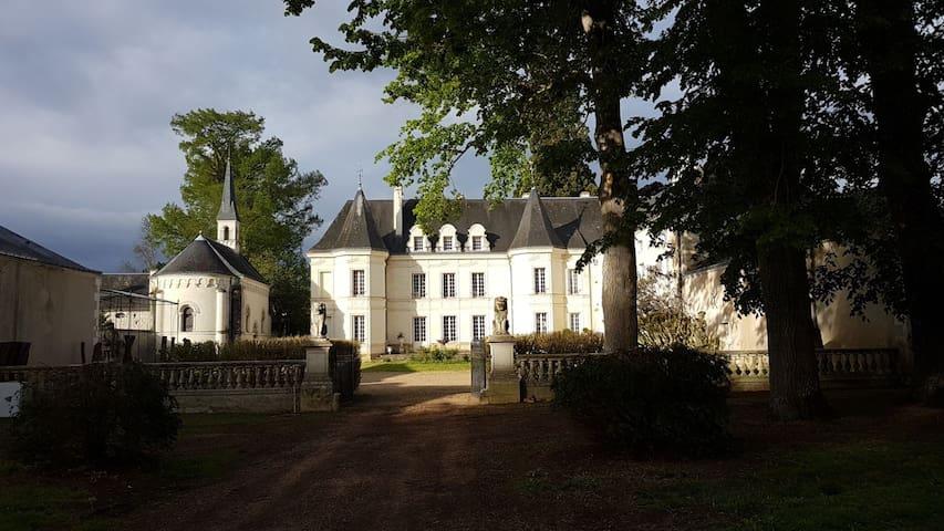 chateau de Basché 2ch 2 salle b pour 4 pers