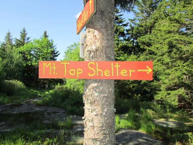 Mountain Top Shelter - New Ipswich - Flat