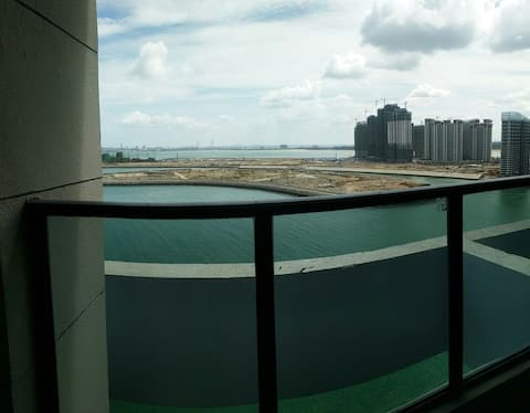 海花岛~恒瑚公寓~海的味道~海景两居亲子双大床