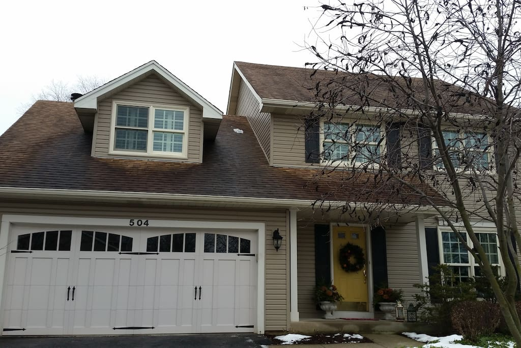 Front of House. Free Parking Available on the Left Side of Driveway.