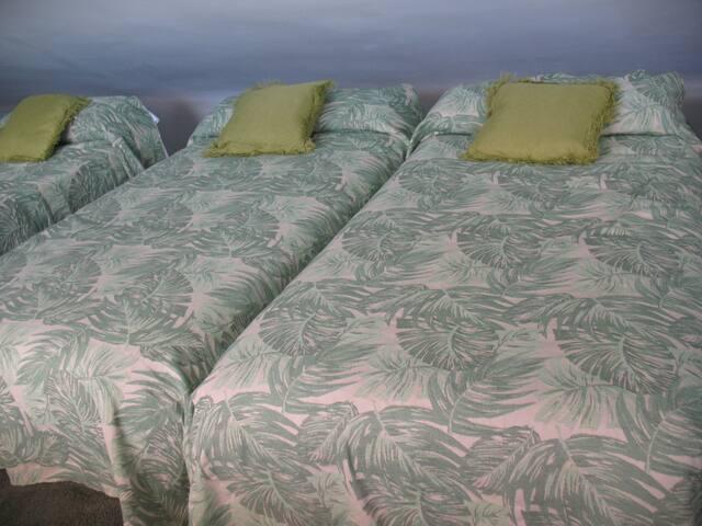 habitacion privado con camas individuales - Boadilla del Monte - Haus