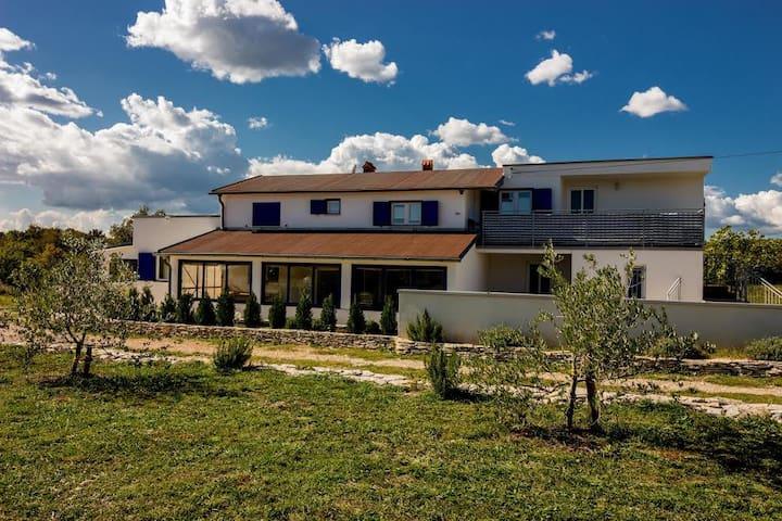 Vila Darinka (1Doppelbett + Schlafcouch) - Trget - Holiday home
