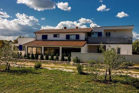 Vila Darinka (1Doppelbett + Schlafcouch) - Trget - Ferienunterkunft