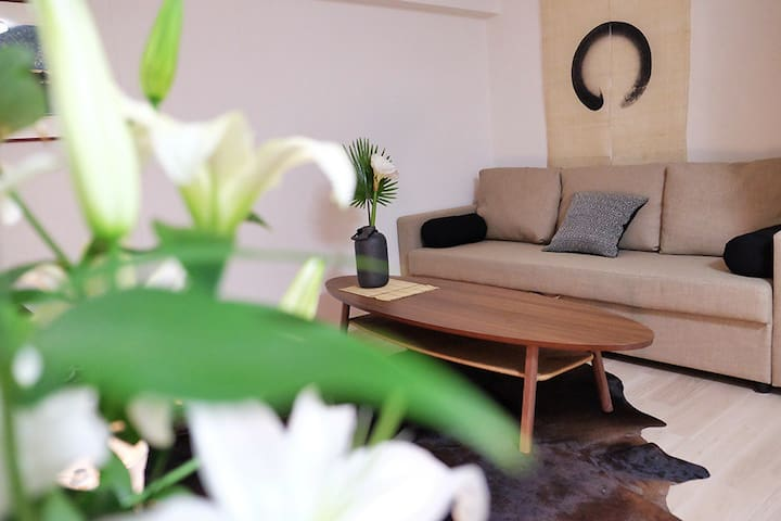 Brand new flat in trendy Hiroo. - Shibuya-ku - Apartmen