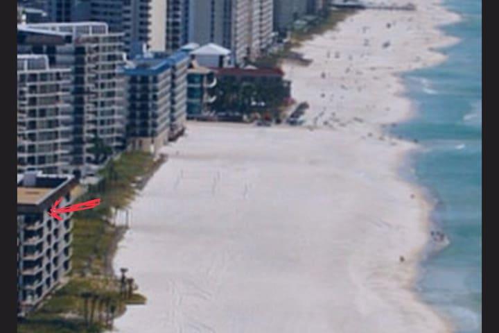 AT the Beach, Angela & Tony's Beach Front Condo