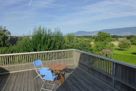 Ferientraum mit Aussicht nahe See - Chevroux