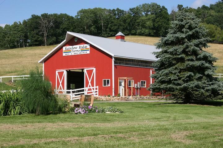 Rainbow Ridge Farms B&B-------Yellow Room