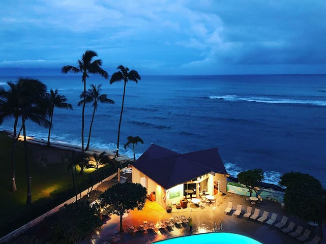 LAHAINA OCEANFRONT STUDIO CONDO AT WEST MAUI!