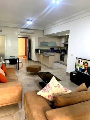Un appartement très luxueux