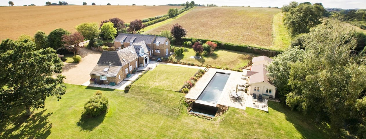 Luxury Country House in Oxfordshire - North Newington - Rumah