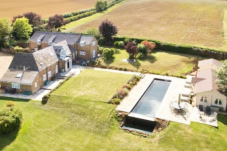 Luxury Country House in Oxfordshire - North Newington - Hus