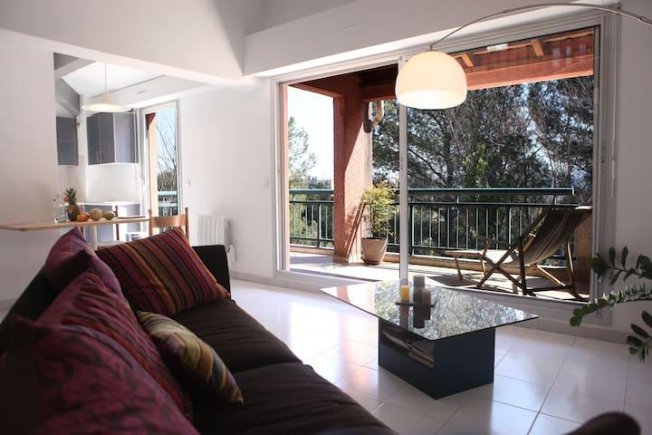 T3 aix - Aix-en-Provence - Apto. en complejo residencial