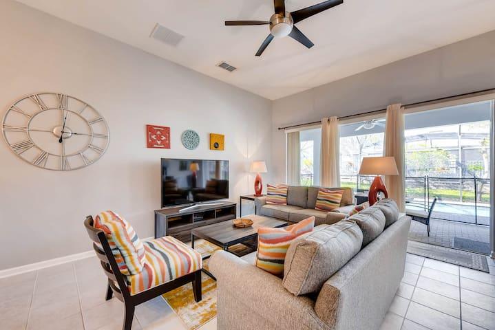 Renovated 2018 5Br/5Ba Disney Getaway Villa