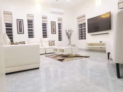 Lekki Conservation Luxury Palace with pool & gym