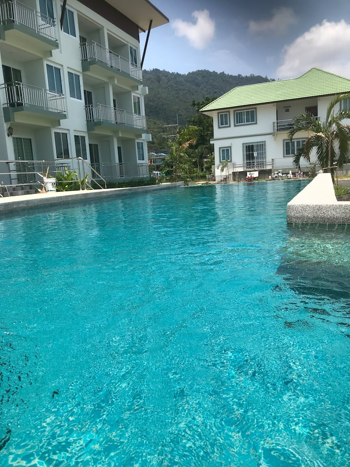 KOH SAMUI LAMAI BEACH POOL APARTMENT C,301